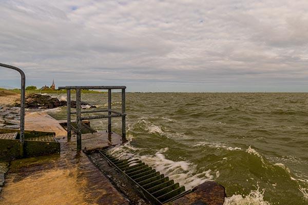 PWN inlaat IJsselmeer bij Andijk