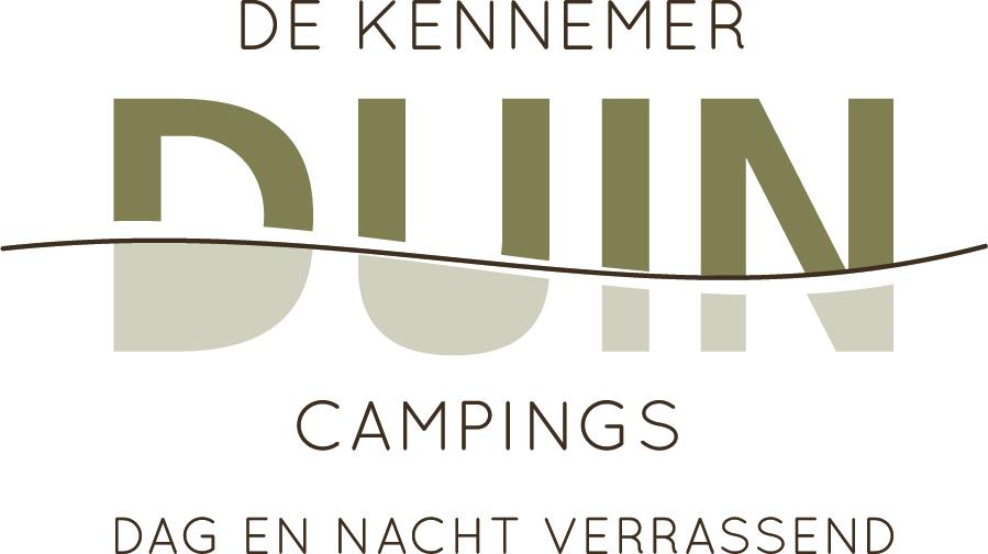 Logo De Kennemer Duincampings dag en nacht verrassend
