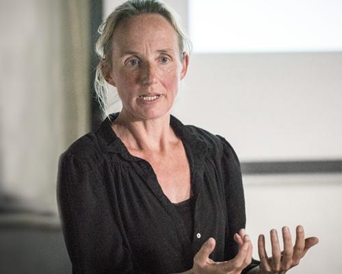 Profielfoto innovatiemanager PWN Suze van der Meulen