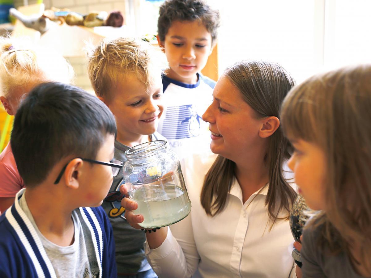 Liza Berkhof PABO kraanwaterles Zuiderpolderschool