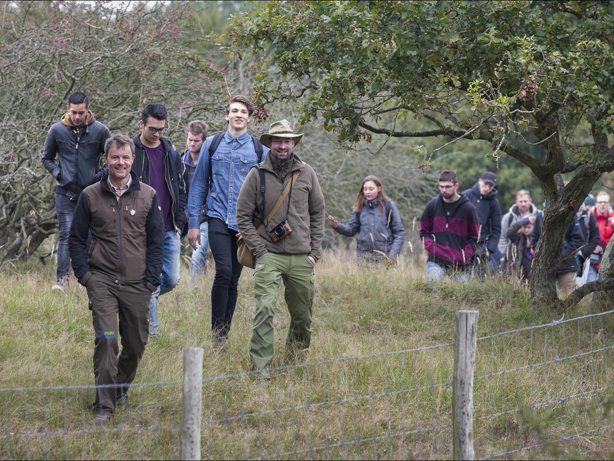 Op excursie met de boswachter