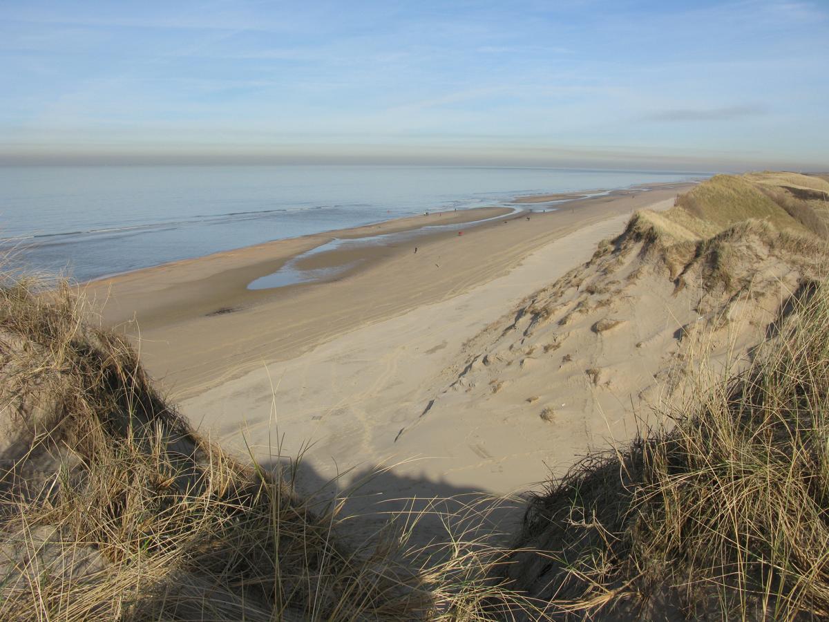 Strand bij Heemskerk