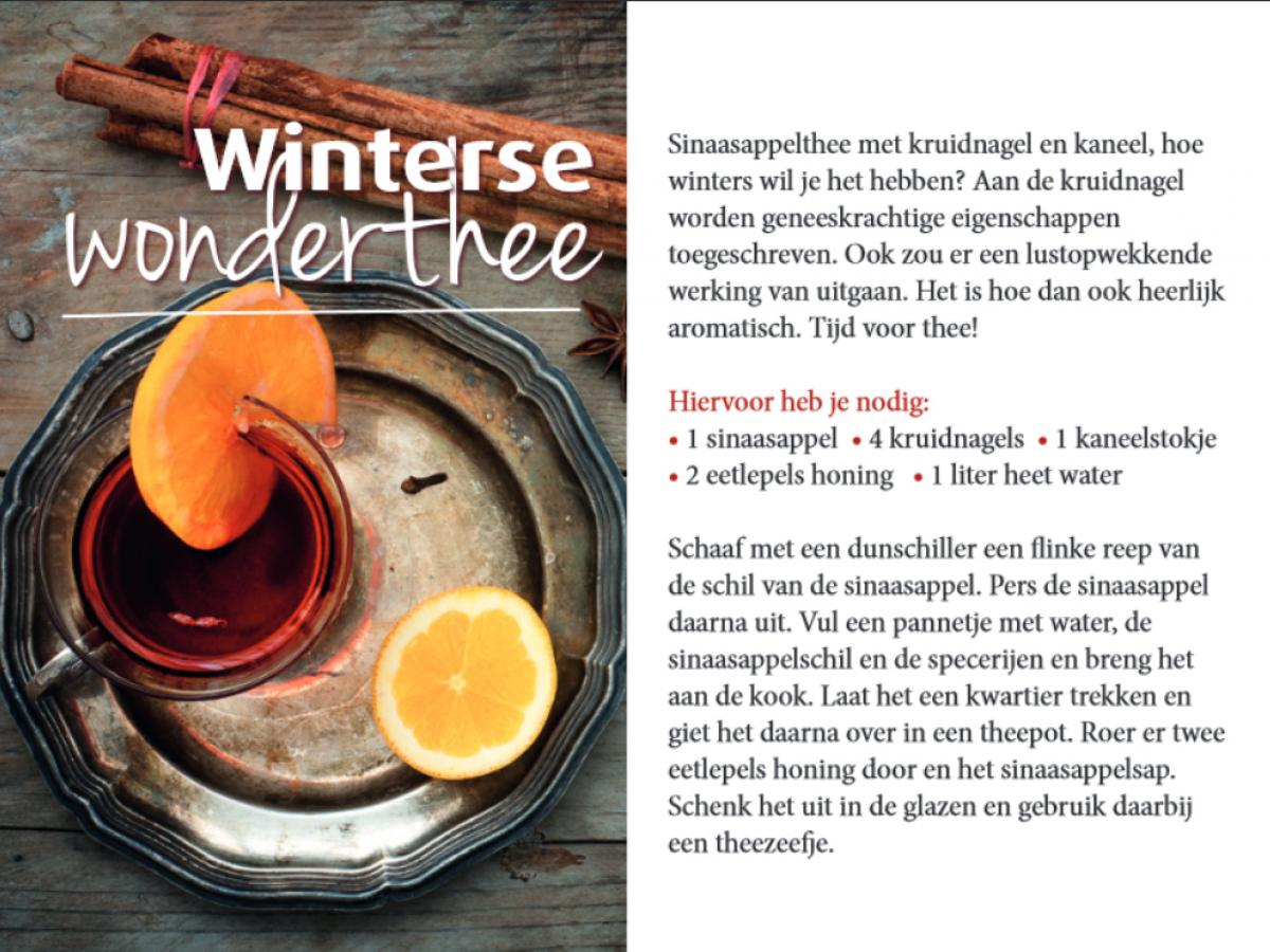 recept voor winterse thee