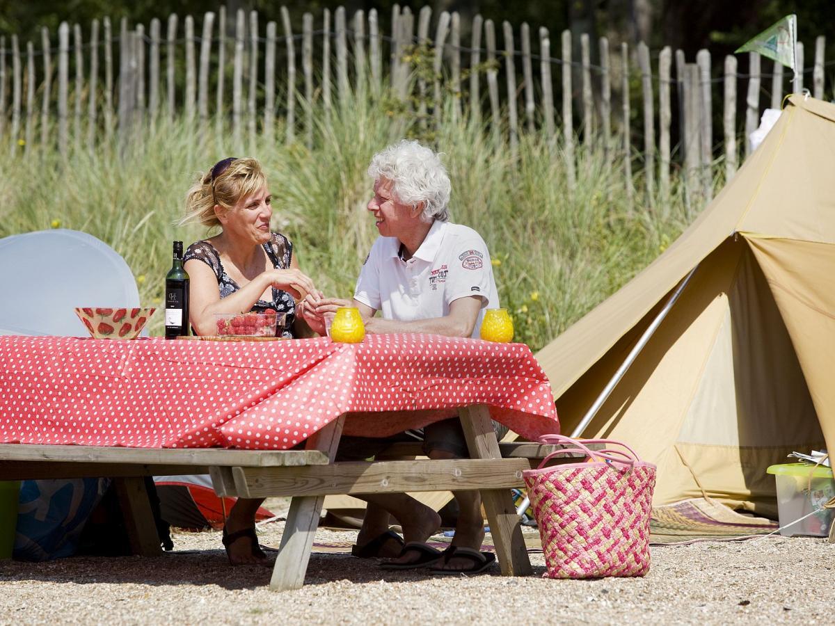 kamperen picknick