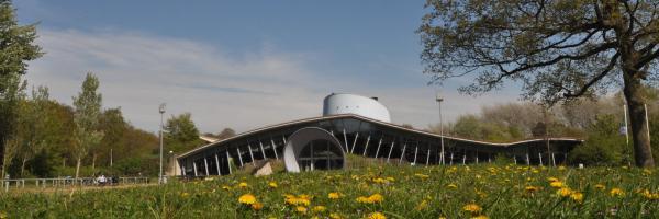 Gebouw bezoekerscentrum De Hoep