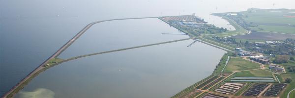 Per jaar wordt 25 miljoen kuub water uit het IJsselmeer direct volledig gezuiverd tot drinkwater.