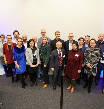 deelnemers coalitie blauwe netten