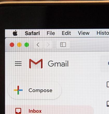 Schermafbeelding mailbox Gmail