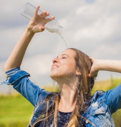 Kraanwater is verfrissend