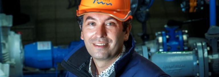 Profielfoto Sectordirecteur Distributie PWN Patrick Franken