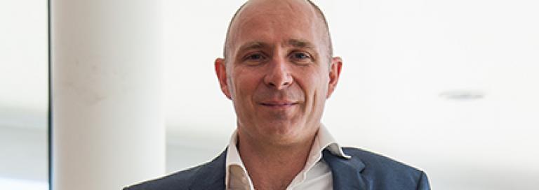 Profielfoto Sectordirecteur Bedrijfsvoering PWN Gijs ten Bosch