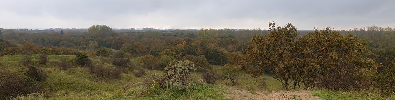 Uitzicht vanaf uitkijkpunt de Papenberg