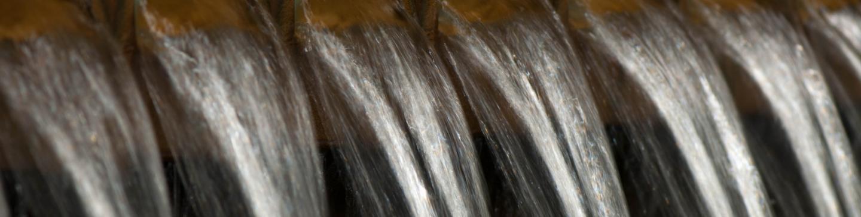 Beluchting van het water in waterfabriek Heemskerk