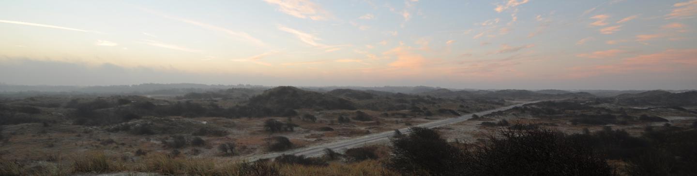Uitzicht op het Noordhollands Duinreservaat