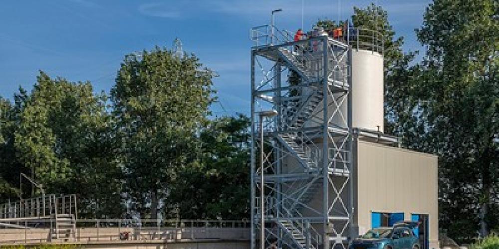 PACAS installatie reiniging afvalwater