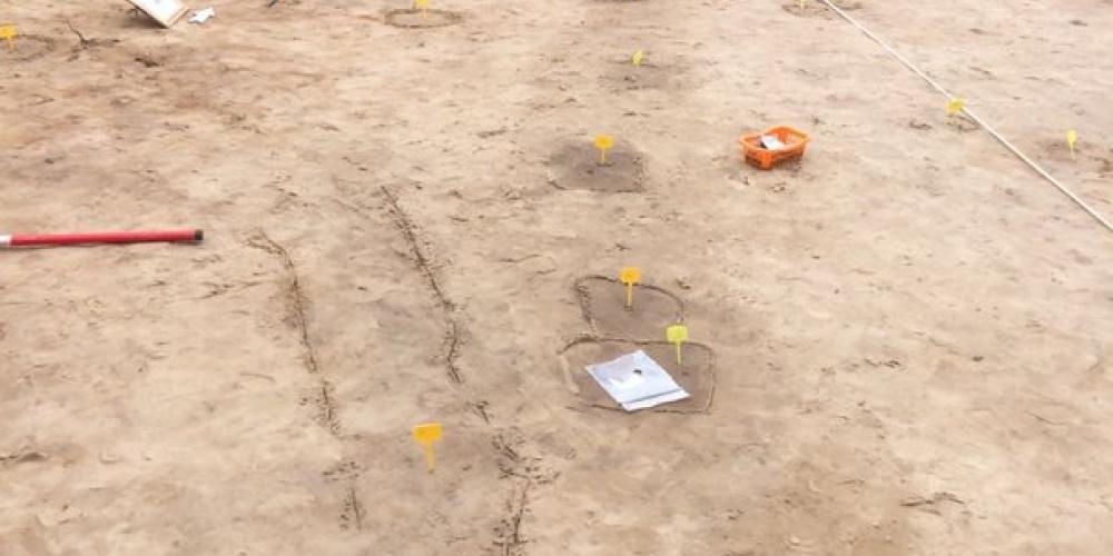archeologisch onderzoek bij duingebied Waterrijk