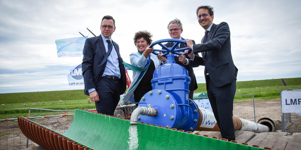 Officiele ingebruikname Boring Texel - Den Helder 2017
