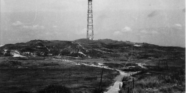 historische foto Tweede Wereldoorlog in Noordhollands Duinreservaat