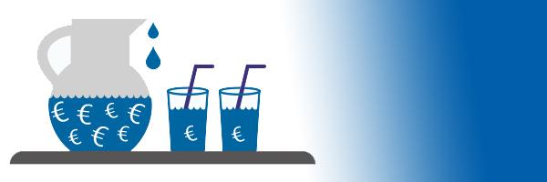 illustratie verantwoorde kostprijs drinkwater